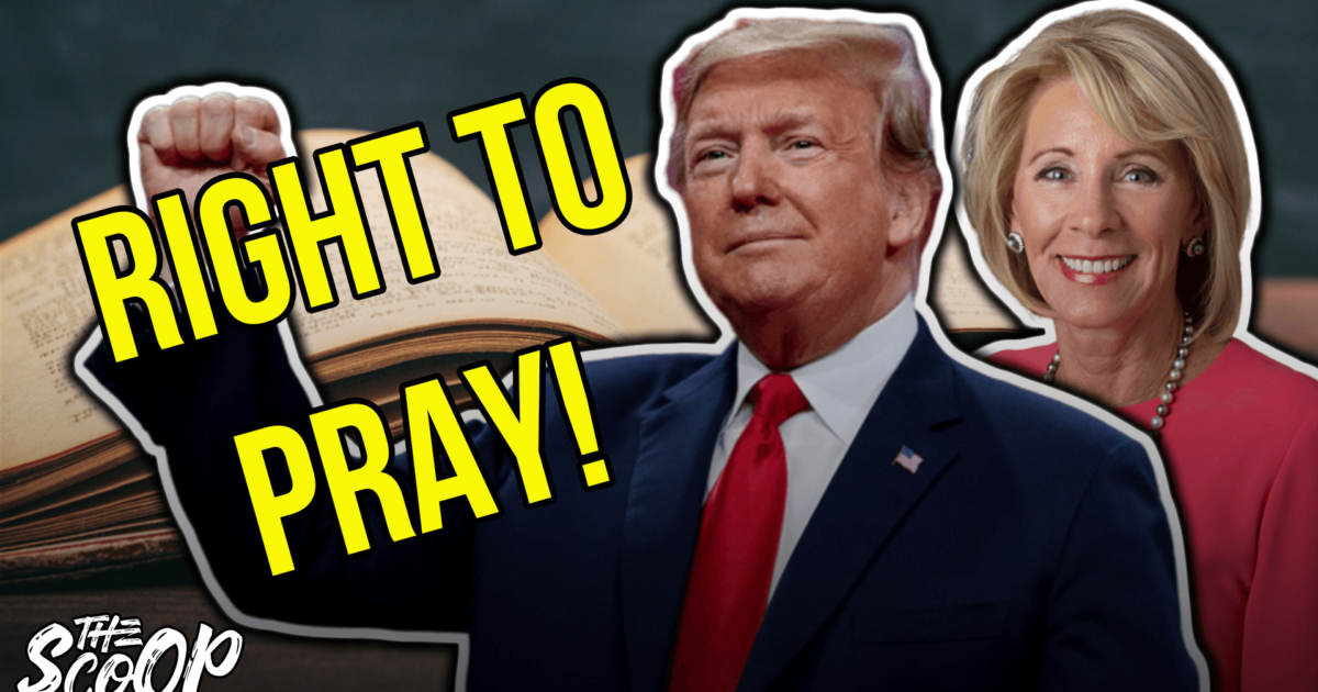 MUST SEE: President Trump Restores First Amendment Protected 'Right To Pray' In Public Schools