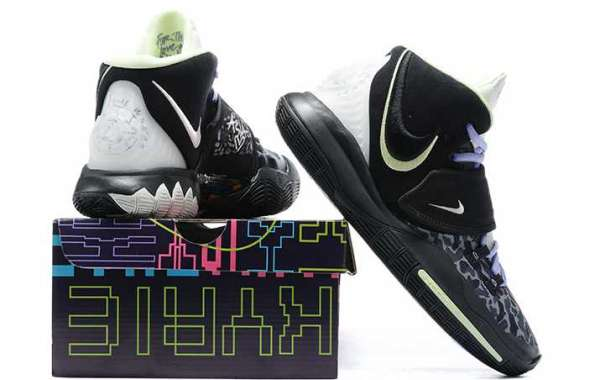 Black camouflage Kyrie 6 CD5031-001 is now available!