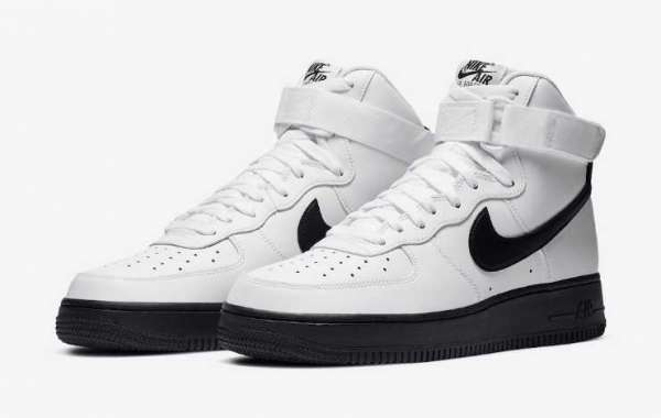 2020 Nike Air Force 1 High Returning in Classic White and Black