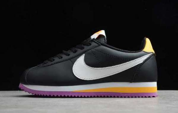 Classic Forrest Gump running Nike WMNS shoes 807471-022 usher in the Lakers purple and gold color! officially on sale!