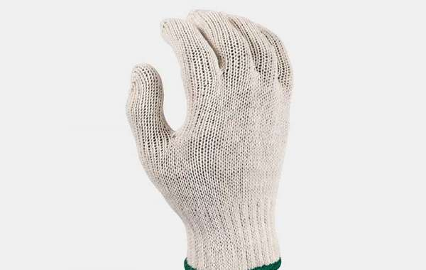 Knitted working gloves fabric
