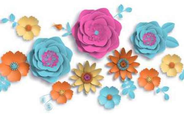 How To Make Paper Flowers Craft For Decoration