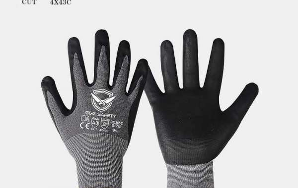 Cut resistant safety gloves are suitable for different places