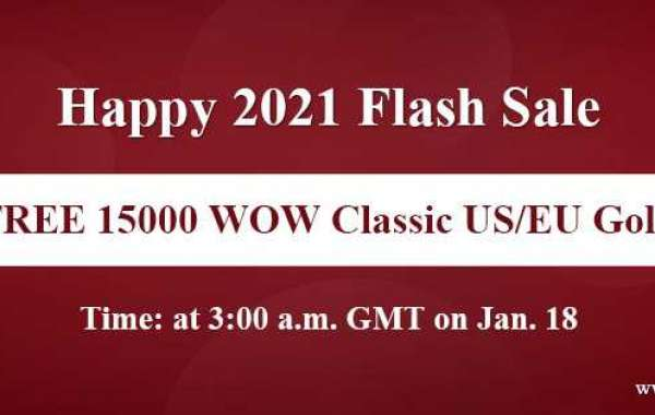 New year surprise:15000 gold for world of warcraft Classic with Free on WOWclassicgp.com