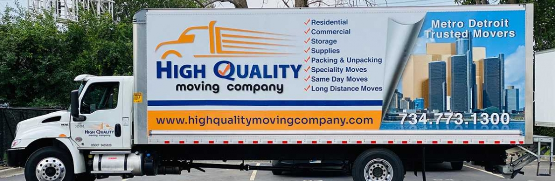 High Quality Moving Company Cover Image