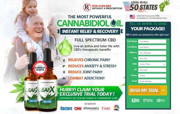 Leaf X CBD Oil Reviews | 100% Satisfaction Guarantee | Help To Reduce Pain Instant