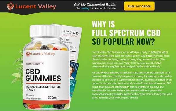 Lucent Valley CBD Gummies [Hoax Exposed]