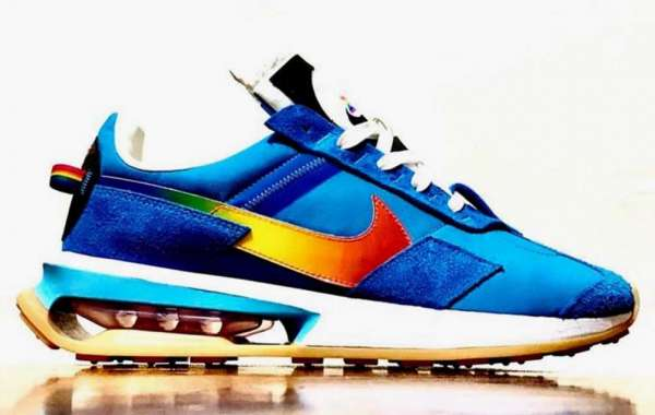 "New 2021 Nike Air Max 270 ""Pre-Day"" Blue Multi Sneakers"