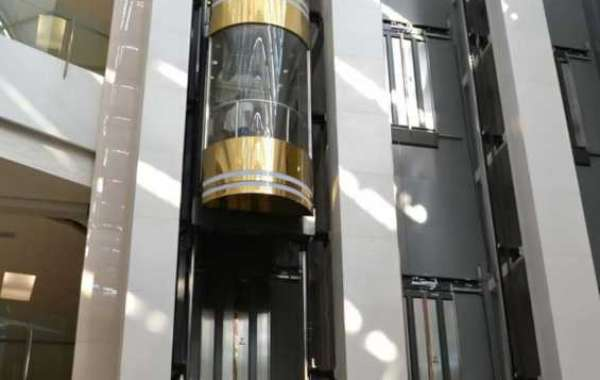 The car area of observation elevators consists of two parts
