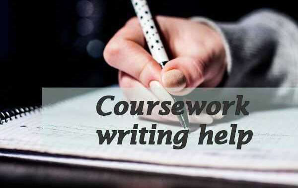 Great online help in the coursework writing